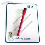 Magnetic Memo Board with Pet Dod Design and 200g Chrome Paper