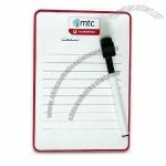 Magnetic Memo Message Board with Wipe Pen