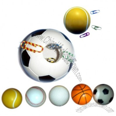 Magnetic Sports Ball Design Clip Dispensers