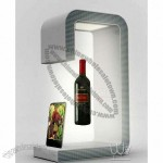 Magnetic floating display for wine