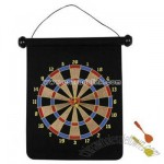 Magnetic single sided dart board set