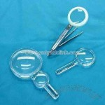 Magnifier with Tweezers