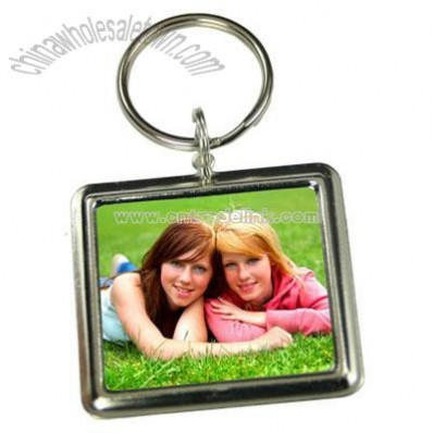 Make Your Own Custom Rectangle Photo Keychain Kit