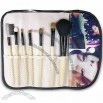 Makeup Brush Set with Bamboo Handle