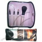 Makeup Brush Set with Full Color Print Case
