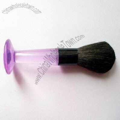 Makeup Brush with Plastic Handle
