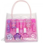 Makeup Girl Set with PVC Handbag
