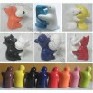 Man and Animal Huging Salt and Pepper Shakers, Caster Set