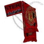 Manchester United Scarf with Fringes at Both Ends