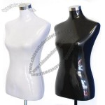 Mannequin Female Torso with Metal Cast Stand