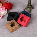 Maple Leaf Handmade Soap Packaging Box