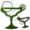 Margarita Glass Carabiner