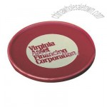 Maroon Glossy ceramic coaster cover for mugs