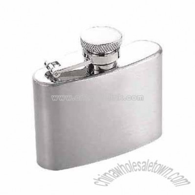 Matt hip flask