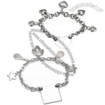 Medical ID Bracelet, Made of Stainless Steel Material