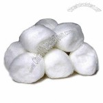 Medical Sterile Cotton Ball, 100% Absorbent