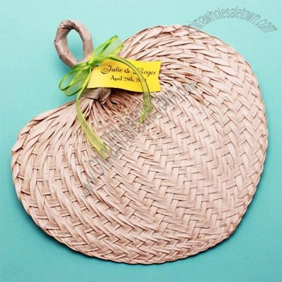 Medium Size Palm Hand Favor Fans