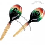 Meinl Wood Maracas, Multi Color