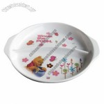 Melamine Children 2 Trays Platter