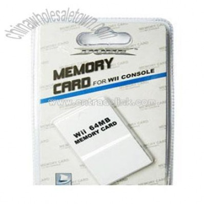 Memory Card 64MB for Wii