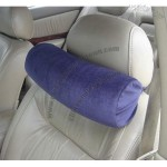 Memory Foam Car Neck Pillow With Headrest Strap