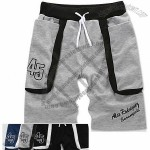 Men Casual Cotton Beach Shorts
