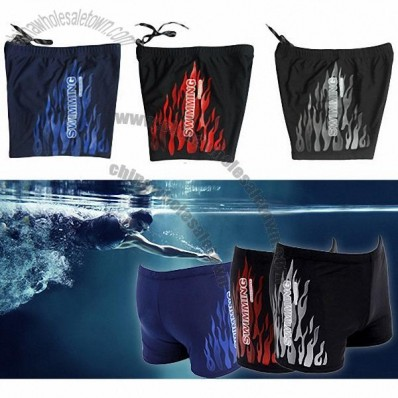 Men Swimming Trunks - Elastic & Adjustable