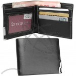 Men Wallet Genuine Leather Business Card Holder
