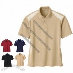 Men'S Recycled Polyester Performance Honeycomb Polo
