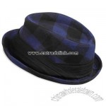 Mens AE Plaid Fedora