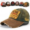 Mens Baseball Caps Vintage Distressed Embroidery Trucker Hats