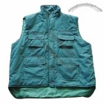 Men's Bodywarmer with 190T Polyester Lining