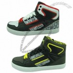 Men's Casual Shoes, Rubber Outsole, Made of PU and Mesh