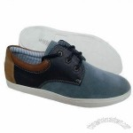 Mens Casual Shoes with PU Upper, Rubber Sole, EU 40 to 46# Sizes