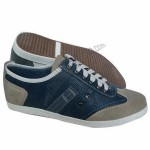 Men's Casual Shoes with PU Upper, Rubber Sole