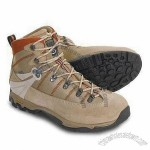 Men's Hiking Boots with Waterproof Feature, Made of Cow Suede and Leather