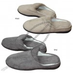 Men's Microfiber Memory Foam Slippers