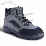 Men's Safety Shoes with Steel Toe and Rubber/TPR Outsole