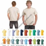 Men's Short-Sleeve 100% Cotton Crew-Neck Tees in 4 Sizes