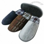 Men's Side Stitching Indoor Slippers