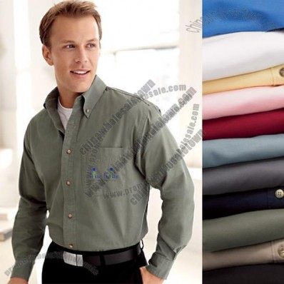 Men's Titan Twill Button Down Custom Shirt - Colors