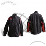 Men's Windbreaker with String and Stopper at Hem