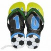 Men's World Cup Slippers with Five Nail Strap and Rubber Sole