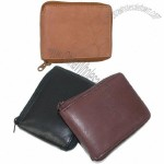 Men's Zip Around Leather Wallet