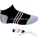 Men's low profile knitted sock
