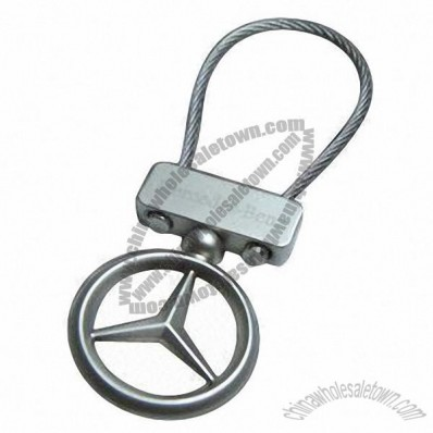 Mercedes Benz Metal Car Logo Keychain