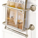 Mercer Magazine Rack & Paper Holder