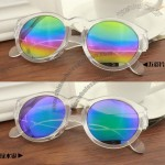 Mercury Fashion Round Frame Sunglasses