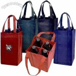 Meritage-4 Bottle Wine Tote Bags
