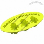 Merry Christmas Tree 3 Silicone Ice Cube Tray